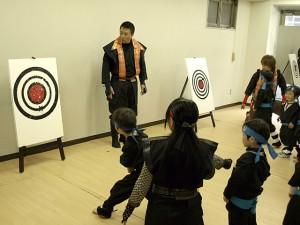 ジャカジャカ忍者体験教室