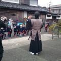 かがわ市引田のひな祭り 侍ショー