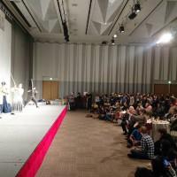 国際会議場にて侍・忍者ショー&体験